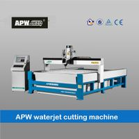 APW high accuracy CNC water jet cutting machine