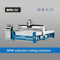 APW high accuracy CNC water jet cutting machine
