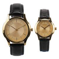 custom brand watches leather watch band japan quartz watch