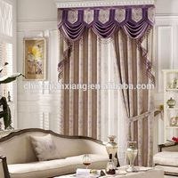 Factory Directly Sales High Quality Cheap Manual Polyester Curtain thumbnail image