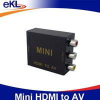 2014 mini HDMI to AV converter with L/R audio output