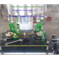 Beer Brewery System Beer Bottle Filling Machine