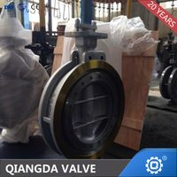 TRIPLE OFFSET A216 WCB FLANGED BUTTERFLY VALVE thumbnail image