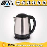 1.5l electric cordless brushed stainless steel kettle
