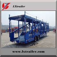 Best price 2 / 3 Axles Hydraulic Car / Vehicle Carrier/Car Transport Semi Truck Trailer