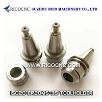 ISO20 Tool Holders for CNC Routers ISO20-ER20MS-35 Collet Chuck Toolholders