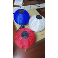 Paper/Fabric Lanterns with/without solar panel for party decoration thumbnail image