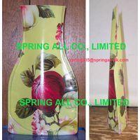 Colorful vase, folding vase