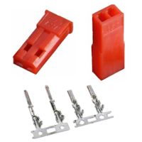 10pairs 2.54mm JST SYP 2-Pin Female & Male Red Plug Housing Crimp Terminal Connector Kit 20%Off thumbnail image