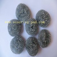 household kitchen cleaning galvanized wire mesh