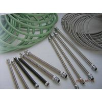 Stainless steel flexible metal hose with gas lines