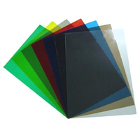 High Impact PVC RIGID SHEET Advertising materials colorful flexible plastic sheet