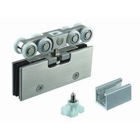 glass door roller fittings