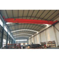 electric overhead travelling 3 ton hoist suspension engine single girder crane for sale