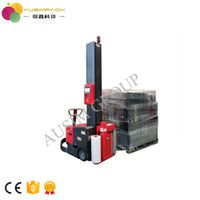 Robot wrapping machine