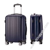 Dongguan New Design Hot Design Abs Pc Men Carry on Suitcase Trolley Luggage