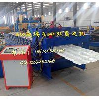 820 Glazed Tile Sheet Steel Roll Forming Machine