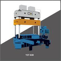 Y27 315-2500ton 4 column hydraulic press punching machine