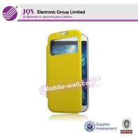 Flip leather cases and cover for Samsung galaxy S4 view cover thumbnail image