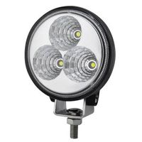 9W Car LED Work Light with Cree or Epistar LED Chips, Die-cast Aluminum Housing and IP68 New
