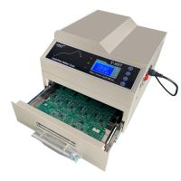 Ginkgoem Desktop Reflow Oven T-937 / T-937M with infrared and hot air heating up for SMT thumbnail image