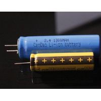 Rechargeable battery 2.4V lto battery high temperature battery 14500 li ion 500mah lithium titanate