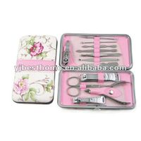 Professional Nail Care Manicure Pedicure Set Travel Grooming Nail Art Clipper