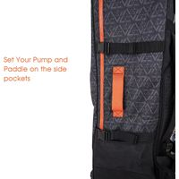 Inflatable Paddleboard Backpack, Large Capacity SUP Backpack Bag with Wheels thumbnail image