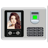 PF3 Biometrics Time Attendance Machine, Face & Fingerprint Recognition, 2.8 '' TFT Screen, 100000