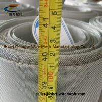 Fireplace Screens Stainless Steel Woven Wire Mesh 0.5 - 0.9 Mm Wire Diameter