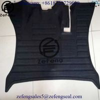 Toyota forklift spare parts rubber floor mat 53431-30510-71 53451-26600-71 53451-23321-71