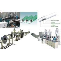 PE Aluminum PE pipe production line