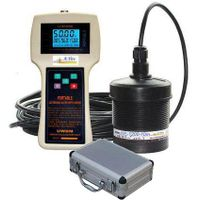 Portable Ultrasonic Level Meter Guage