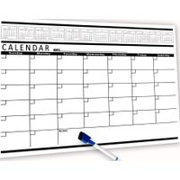 Magnetic Calendar for Refrigerator White Board | Perfect for Wall Hanging | Great for Kitchen