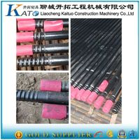Thread drill rod for furnaceR38-Round-R32