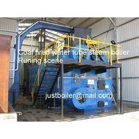 Biomass fired steam boiler