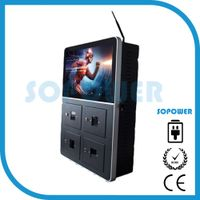 22 inch LCD digital signage machine advertising machine