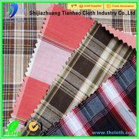 shirting fabric cotton yarn dyed grey shirt fabric in roll