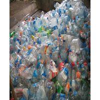 Hot washed 100% clear PET bottle scrap