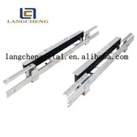 auto lifting and falling table slide mechanism for dining table