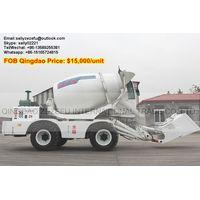 self loading transit mixer truck
