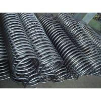 Finned tube coil