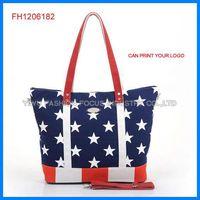 Eco-friendly fashion canvas bag (FH1206182)