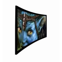 SMX Customized Curved Frame Screen/Curved projection Screen