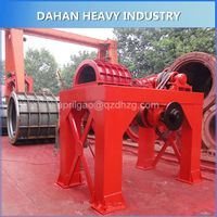 Concrete lined pipe tube making machine