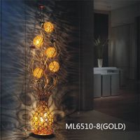 2016 gold Flower Decoration Table Light Floor Lamp