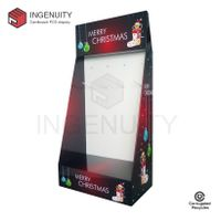 Promotion cardboard display with hooks for christmas gifts FSDU-HOOK-017 thumbnail image