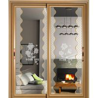 Hot Sale Glass Partition Door Sliding Doors for Decoration,For Bathroom,For Kitchen