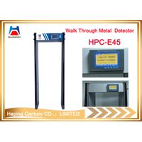 Hot sales 45 zones Walk through military security metal detector door thumbnail image