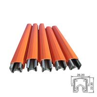100/125Amp galvanized steel insulated conductor bar